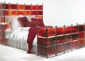 Stained Glass Ruby Bed from Xander Blue