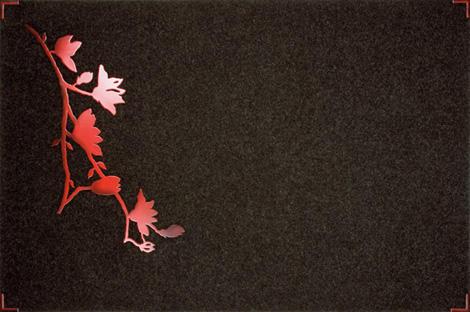 ruckstuhl rug red flower 1