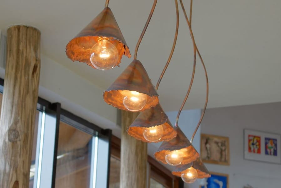 Beautiful Rustic Copper Lighting By Dutch Designer Willem