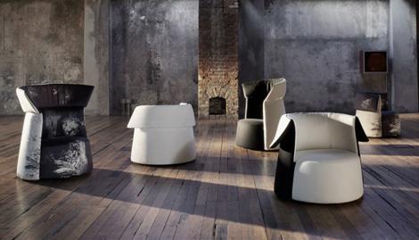 saba italia armchair la carmen 2 Modern Armchair by Saba Italia   LaCarmen Italian armchair