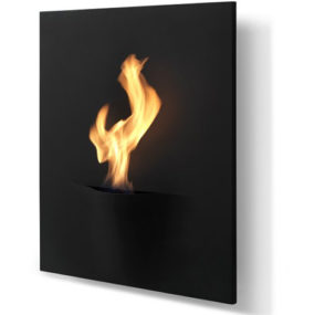 Eco-fireplace for inside or outside the home – a new, exclusive fireplace Gaya by Safretti