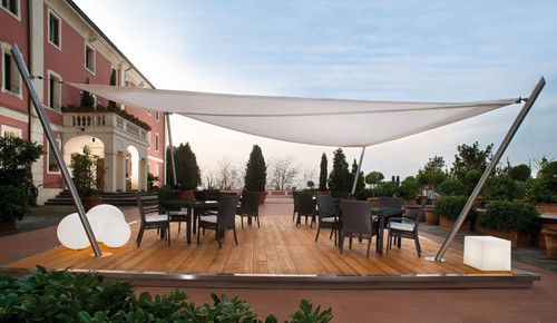 Sail Awnings For Patio Corradi 2 Sail Awnings For Patio By Corradi