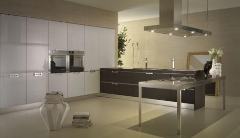 salvarani pk kitchen pantry Contemporary Kitchen from Salvarani   the Pk kitchen