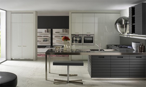 Contemporary Kitchen from Salvarani Cucine - Grande Cuisine kitchen