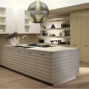 Contemporary Kitchen from Salvarani Cucine – Grande Cuisine kitchen