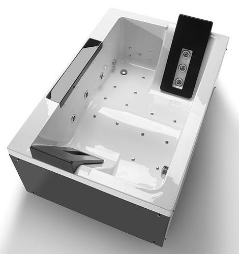 sanindusa bathtub twospace 2 Bathtub For Two People   hi tech TwoSpace by Sanindusa