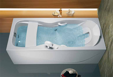 whirlpool bathtub. Whirlpool Bathtub from Sanindusa  Bodyline for Ultimate Relaxation