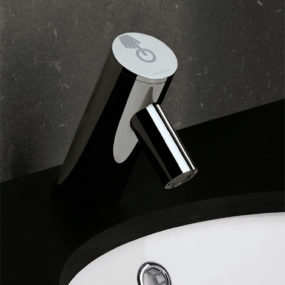 New Electronic Bathroom Faucet from Sanindusa – the Spot touch faucet
