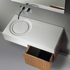 Minimalist Washbasin from Sanindusa – get carried away with the Flow …