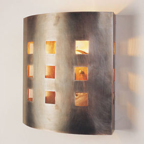 Exterior Sconces by Santa Maria Design – the 'Red' Sconce for outdoors