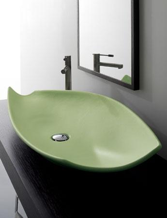 scacer3 Modern decorative vessel from Scarabeo   Kong vessel sinks