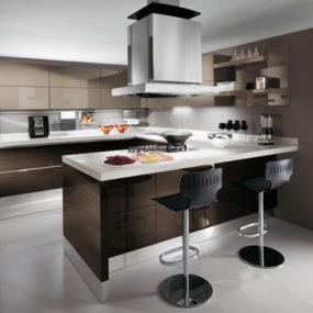 European Kitchen Design from Scavolini – new Scenery in Cream