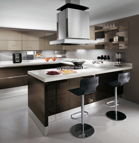 scavolini european kitchen design scenery 1 European Kitchen Design from Scavolini   new Scenery in Cream