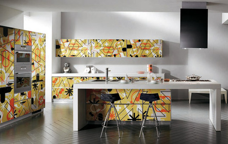 scavolini kitchen crystal 1 thumb Karim Rashid Kitchen from Scavolini – Crystal