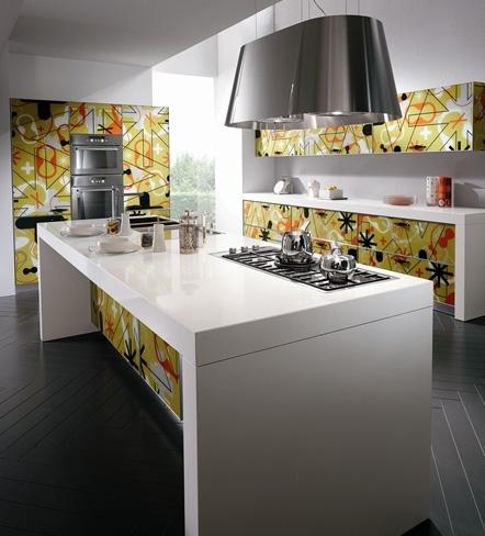 scavolini kitchen crystal 2 Karim Rashid Kitchen from Scavolini – Crystal