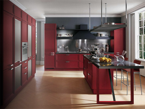 scavolini kitchen focus 1 Modern Classic Kitchen from Scavolini – the Focus showcases adaptability and timelessness