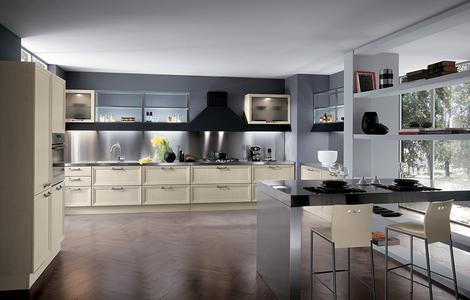 scavolini kitchen focus beige thumb Modern Classic Kitchen from Scavolini – the Focus showcases adaptability and timelessness