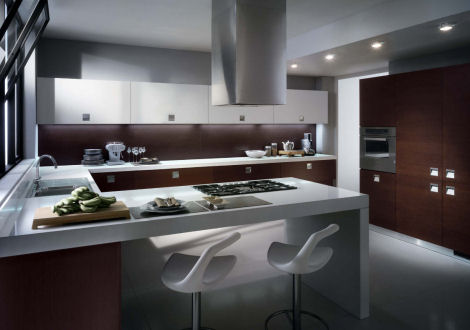 Scavolini contemporary kitchen – the new Mood kitchen design