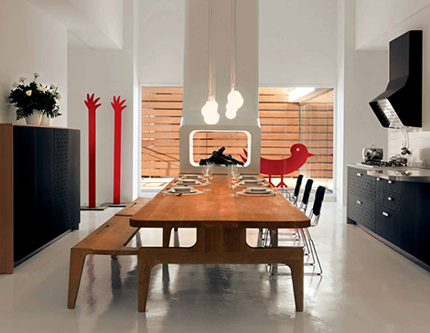 Interesting Kitchens Urban Kitchen Design by Schiffini