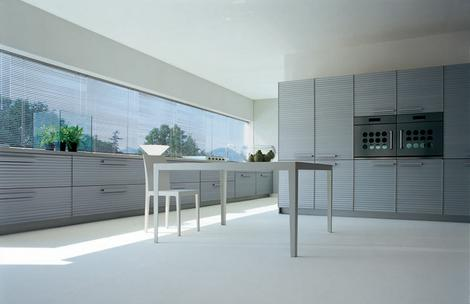 schiffini kitchen cinqueterre thumb Modern Kitchen by Schiffini   Cinqueterre anodized aluminium kitchen