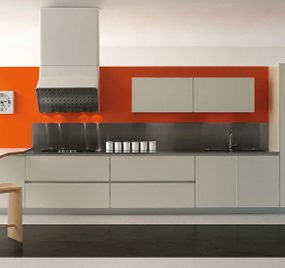 Modern White Kitchens – new kitchen G-one from Schiffini