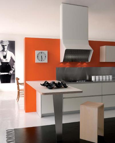 schiffini kitchen g one 3 Modern White Kitchens   new kitchen G one from Schiffini