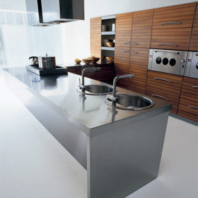 Walnut Kitchen by Schiffini – Solaro modern kitchen