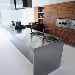 Walnut Kitchen by Schiffini – Solaro modern kitchen