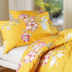 Luxury Bed Linens from Schlossberg of Switzerland – finally, it feels like spring again!