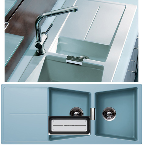 Opus Kitchen Sink from Schock features natural silver ions to ...