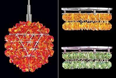 schonbek geometrix geode slices crystal Schonbek Geometrix   new additions