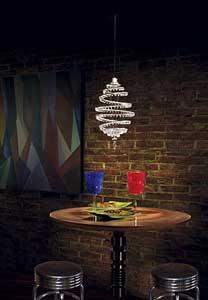 Schonbek S Geometrix Crystal Lighting Goes Contemporary