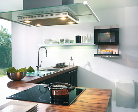 schueller kitchen avantgarde 2 Bright and Breezy Kitchen from Schuller   Avantgarde kichen line