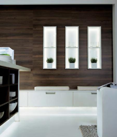 Schueller Avantgarde - wall integrated cabinets
