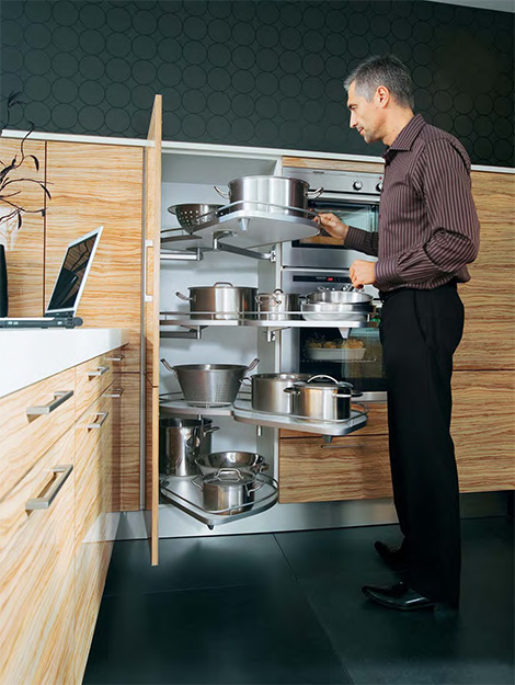 Schuller Avantgarde - bar counter with rotating tray