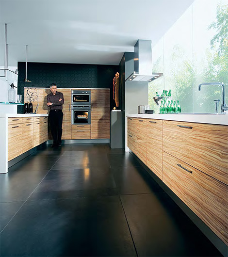 Bright and Breezy Kitchen from Schuller - Avantgarde kichen line