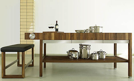 schulte design grace kitchen table Contemporary Kitchen Furniture from Schulte Design   the Grace kitchen
