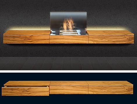 schulte fireplace fireboard