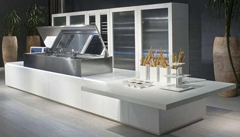 scic kitchen conchiglia 08 2 Remote Controlled Kitchen from SCIC   Conchiglia 08