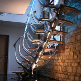 Unique Staircase Design by Philip Watts