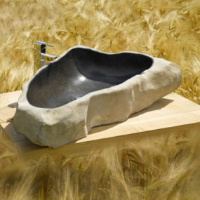 River Stone Sink by SDA Decoration