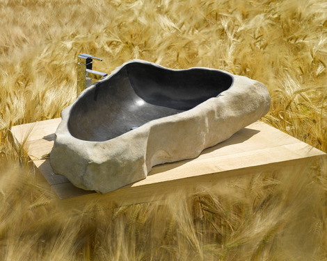 sdb vasques river stone slim2 thumb River Stone Sink by SDA Decoration