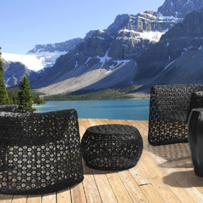 Stylish Outdoor Furniture by Seasonal Living – Black Lace Collection