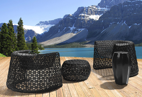 Stylish Outdoor Furniture By Seasonal Living U2013 Black Lace Collection