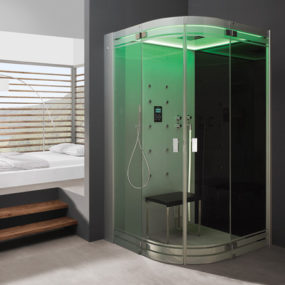 Steam Bath with Shower – new Hoesch SenseSation