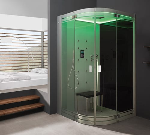 Steam Showers For Some Home Spa Like Luxury: New Hoesch SenseSation