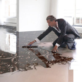 Ultra Modern Flooring by Senso – seamless resin floors 'Impressions'