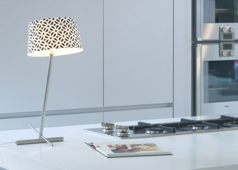 serien lighting slant table lamp Accent Lamp Shades on Slanted Lamps, by Serien Lighting