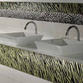 Animal Patterns Ceramic Tile by Settecento – Animal Tiles (Animalier)