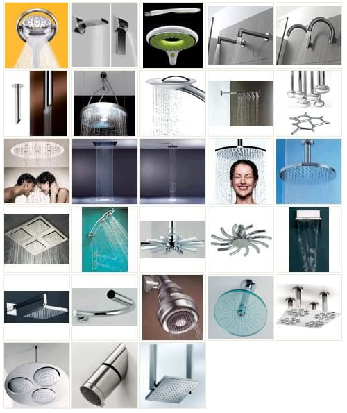 Shower Head Trends – latest in luxury shower heads